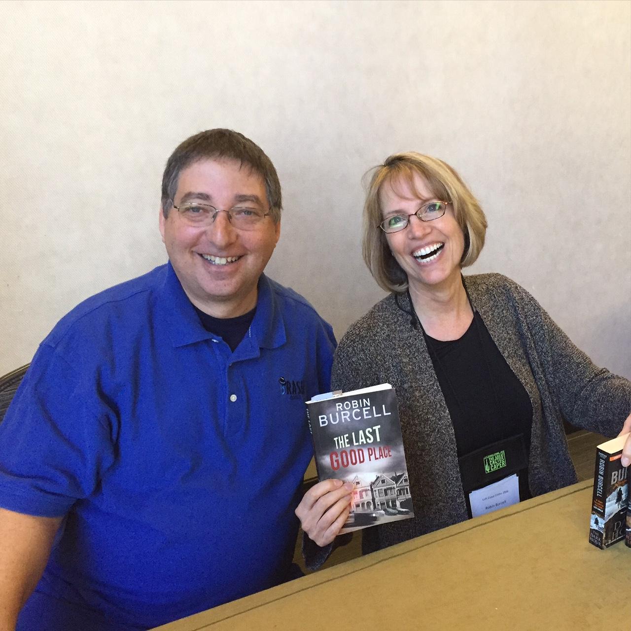 Lee Goldberg and Robin Burcell