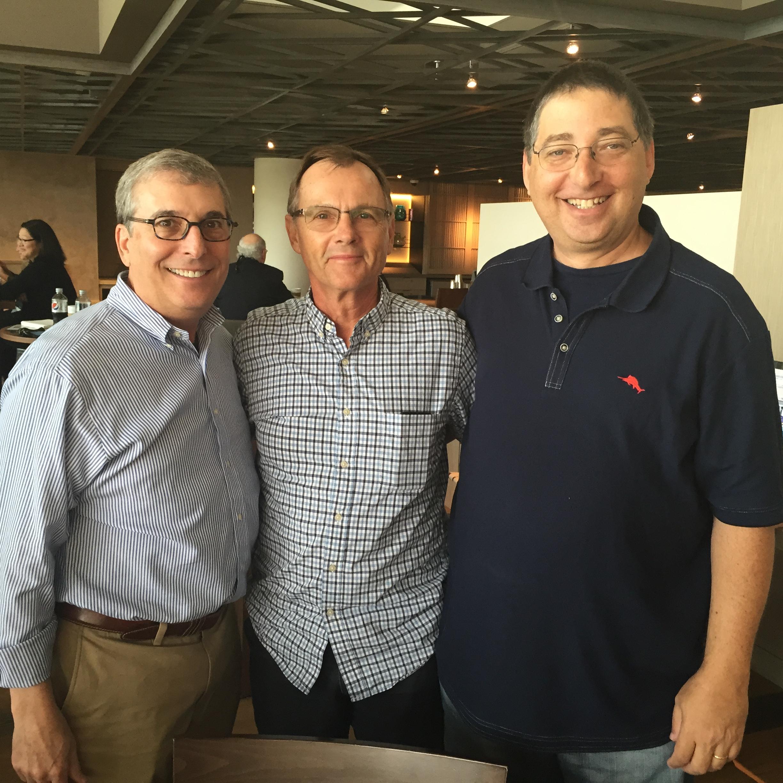 Joel Goldman, Phil Reed, and Lee Goldberg.JPG