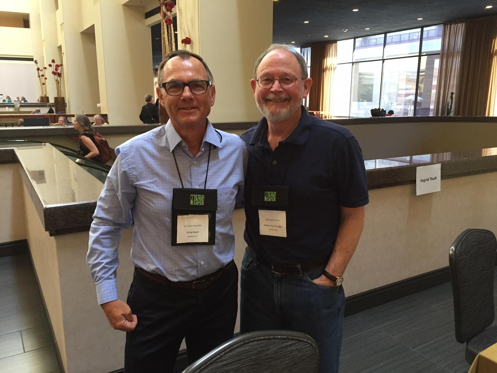 Philip Reed and William Kent Krueger