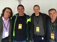 Barry Eisler, Lee Goldberg, Gregg Hurwitz and James Rollins