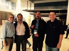 Joel Goldman, Dick Lochte Gar Anthony Haywood and Lee Goldberg.jpg