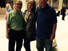 Joel Goldman, Robin Burcell and Lee Goldberg.jpg